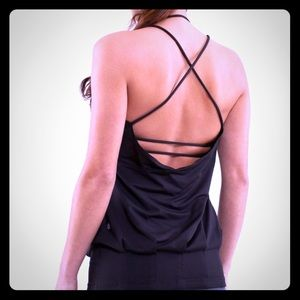 SOLD! Lululemon Flow and Go strappy workout top